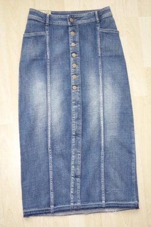 Le Temps des Cerises Gonna di jeans blu Cotone