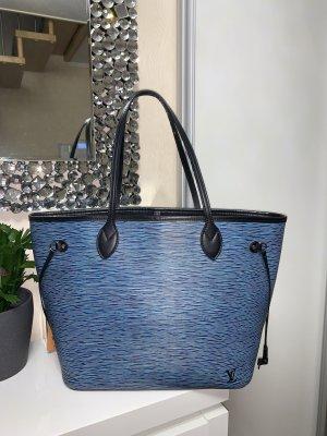 Org. Louis Vuitton Neverfull MM EPI Blau Denim NP1520€ RAR