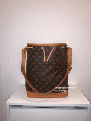 Louis Vuitton Sac porté épaule brun-doré