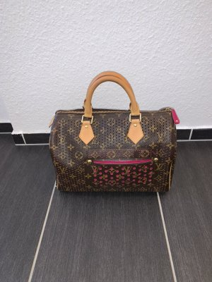 Org. Louis Vuitton Speedy 30 Perforated Fuchsia
