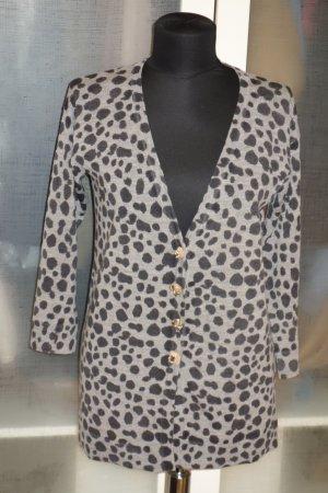 Maliparmi Cardigan in maglia grigio Lana