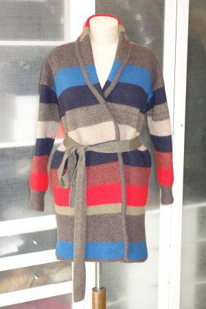Org. MARC by MARC JACOBS Strickmantel aus gekochter Wolle im Streifen-Design Gr.XS/S