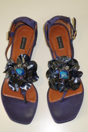 Org. MARC JACOBS Sandalen mit Applikationen Gr.37,5