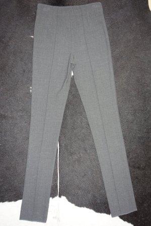 Missoni Wełniane spodnie ciemnoszary-srebrny Wełna
