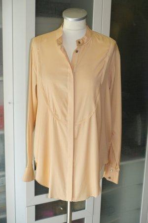 Org. MR. MRS. Shirt oversized Seidenbluse in apricot Gr.S Neu+Etiett
