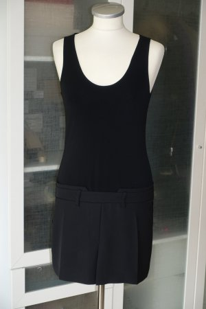 Org. NEIL BARRETT Minikleid mit coolem Detail in schwarz Gr.32/34