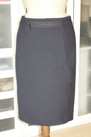 Org. OPENING CEREMONY Pencil Skirt in schwarz mit Reissverschluss-Detail Gr.34/36