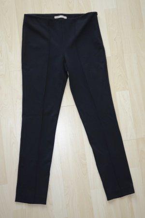 Org. PENNYBLACK Jersey Hose in schwarz slim fit Gr.38