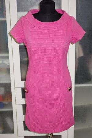 Org. PIU & PIU Kleid in pink mit Schmucksteinen Gr.36