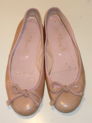 Org. PRETTY BALLERINAS in rosa Lackleder Gr.36