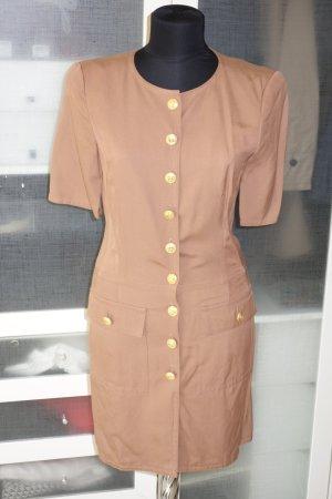 Org. RENA LANGE Hemdblusenkleid mit frontaler Knopfleiste in tabak Gr.36