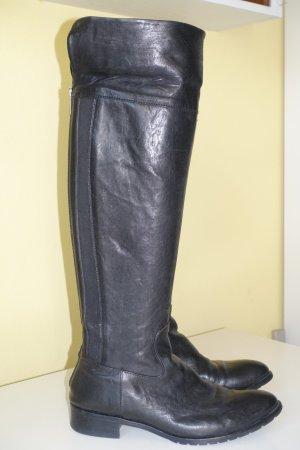 René Lazard Botte d'équitation noir cuir