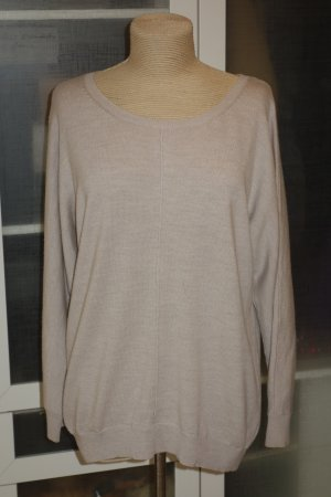 Org. REPEAT Pullover in beige Gr.42 Wolle/Kaschmir