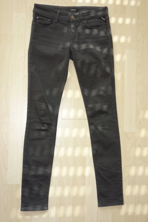 "Org. REPLAY skinny Jeans ""LUZ"" in schwarz Gr.28"