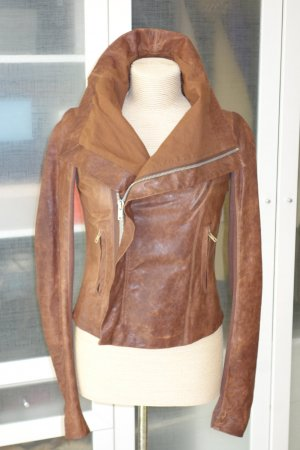 Rick owens Leather Jacket brown leather