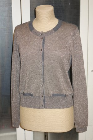 Org. SCHUMACHER Lurex Cardigan/Strickjacke Gr.38