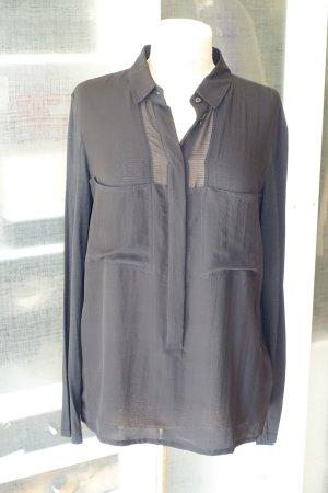 Org. STRENESSE Bluse aus Seide / Viskose mit Brusttaschen Gr.40