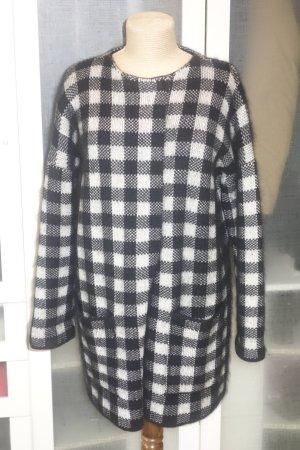 Strenesse Knitted Coat black-light grey
