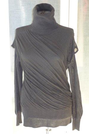 Org. TALBOT RUNHOF Pret-a-Porter Rollkragen-Pullover mit Drapierungen Gr.38/M