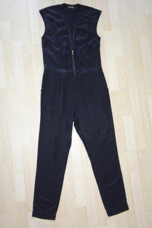 Org. THE KOOPLES oversized Jumpsuit in schwarz Gr.XS/S