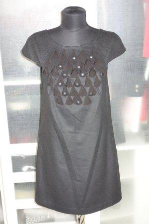 Org. TIBI New York Woll-Kleid mit Applikationen NEU+Etikett