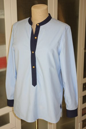 Org. TORY BURCH Tunika Bluse in blau Gr.38