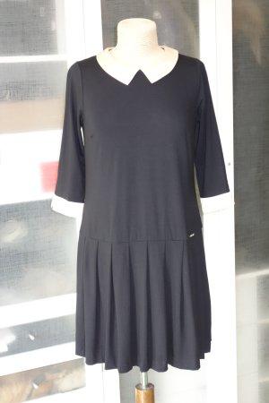 Org. TWIN SET Simona Barbieri Jersey Kleid mit Bübchenkragen Gr.S