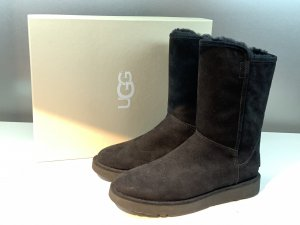 Org. UGG Abree Lammfell Boots in schwarz 36 NEU+Karton