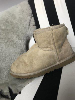 Org. UGG Boots Stiefel Stiefeletten Classic Mini Sand 37