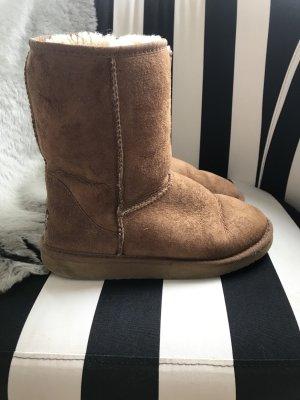 Org. UGG Boots Stiefel Stiefeletten Short Chestnut 37