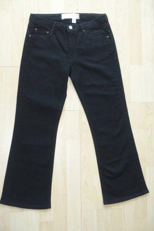 Org. VICTORIA VICTORIA BECKHAM straight leg Jeans in schwarz Gr.27 Neu+Etikett