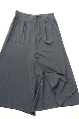 Yohji Yamamoto Pantalone Marlene nero Seta