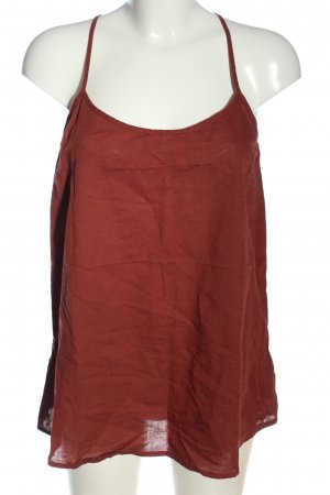 Organication Linen Blouse red casual look