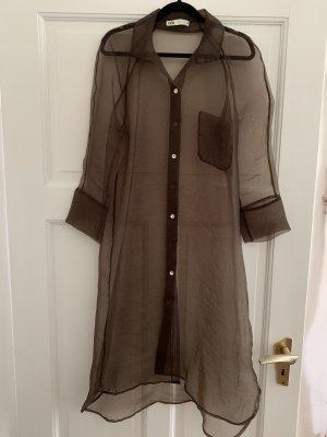 Organza Blusen-Kleid