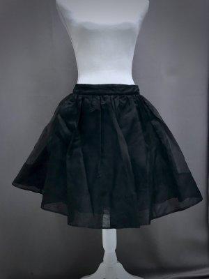 alannah hill Tulle Skirt black silk