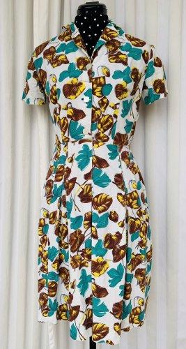 Vestido tipo blusón multicolor Algodón