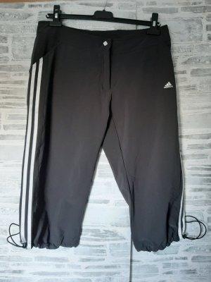 Orginal Adidas Sport/ Freizeithose 3/4 Länge,  schwarz, Gr L, Neuwertig!