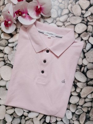 "Orginal Calvin Klein Poloshirt ""Custom fit"", rose', Gr.S, Neuwertig!"