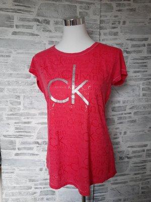 Orginal CalvinT Shirt, pink/ silber, gr  L, Hochwertig!
