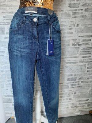 Orginal Cecil, 3/4 Sommer Jeans, blau, von Gr 27-29 tragbar, Superstrech, Neu& Etikett!