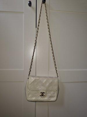 Orginal Chanel Vintage Mini square flap bag Gold