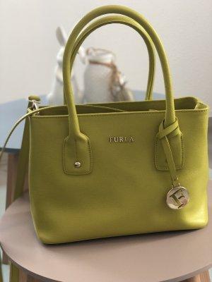 Furla Shoulder Bag lime yellow