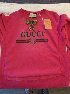 Gucci Maglione oversize rosa