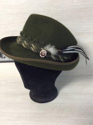 Ischler Cappello tradizionale verde scuro