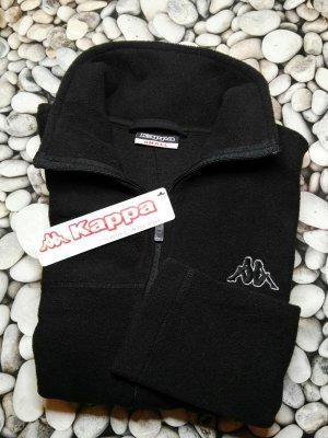 Orginal KAPPA Fleece Jacke, schwarz, Gr. S & Etikett