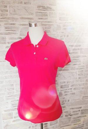 Orginal Lacoste Poloshirt, pink, Gr.42( fällt wie 38),Neuwertig!