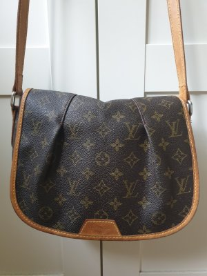 Louis Vuitton Borsa a spalla marrone-beige
