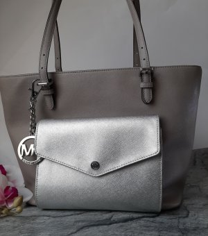 Michael Kors Borsa shopper argento-grigio