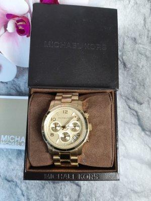Orginal Michael Kors Chronograh, gold, Neuwertig &Etikett!!