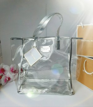 "Orginal Michael Kors ""Cristall Shopper!, silber/trasparent, Neu!"